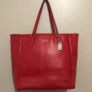 Coach Tote - Red - large